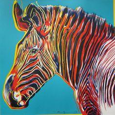 Grevy's Zebra, from the Endangered Species Portfolio