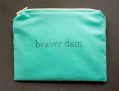 INdiscreet Zip Pouch for Tampons, Menstrual Pads, Feminine Products - beaver dam Post Partum Pads, Menstrual Pads, Menstrual Cycle, Black Friday 2013, Women Problems, Making Connections, Shark Week, Girly Things, Funny Things