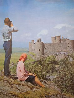 Harlech in Merioneth, Wales | 1966/7 Travel to Britain