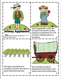 Johnny Appleseed Mini Reader!