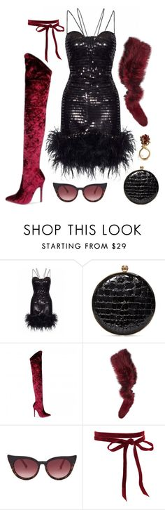 """Good Luck"" by silhouetteoflight ❤ liked on Polyvore featuring Alexander McQueen, Charlotte Simone and Preen"