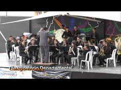 Banda participante concurso Departamental de Bandas Sinfónicas en Villeta, Cundinamarca.