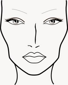 Ô bonita: Croqui x Face Chart