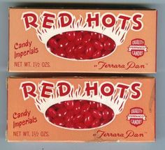 21 Best Vintage Candy - vintagetopia If you're on the lookout for a memorable gift, Rocket Fizz has something for everybody on your list Red Hots Candy, Hot Candy, Retro Candy, Vintage Candy, 1980s Candy, Sweet Memories, Childhood Memories, Childhood Toys, Bonbons Vintage