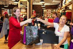 Athleta Arrives at Providence Place Mall - Opening week of Athleta brought in hundreds of new customers. Currently the only Athleta located in Rhode Island, this sporty store offers fashionable gear for hiking, swimming, running, surfing, and all other adventurous types!