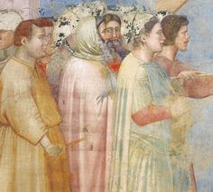 Giotto (detail) - ah, the colors of Giotto.