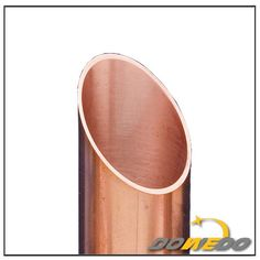 Oval Straight Copper Tube