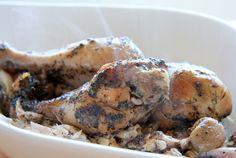 Crockpot garlic and herb chicken drumsticks