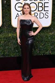Amy Adams in Tom Ford at 2017 Golden Globe Awards in Beverly Hills Check more at https://fashnberry.com/2017/01/amy-adams-in-tom-ford-at-2017-golden-globe-awards-in-beverly-hills/