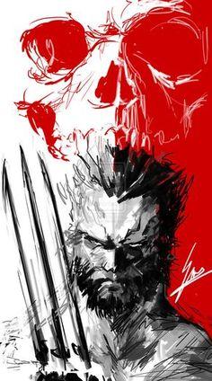 Wolverine : Photo Marvel Wolverine, Wolverine Tattoo, Marvel Comics, Marvel Heroes, Marvel Avengers, Comic Book Characters, Marvel Characters, Comic Character, Comic Books Art