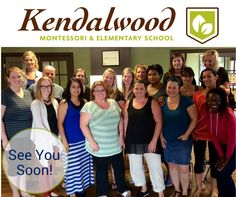 Some of our Kendalwood staff members busy getting ready for the new school year . Montessori Elementary School, Elementary Schools, The New School, New School Year, Life, Primary School, 2nd Grades, Primary Teaching
