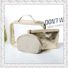 Back To Search Resultsluggage & Bags Learned Travel Transparent Pvc Cosmetic Bag Women Cactus Makeup Case Ice Cream Zipper Make Up Beauty Wash Organizer Toiletry Storage Kit Handsome Appearance Cosmetic Bags & Cases
