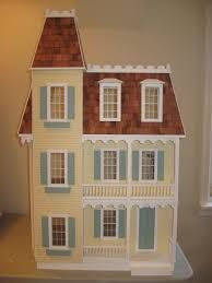 The Mckinley A Wall Hanging Dollhouse Kit By Greenleaf Dollhouses Paula O 39 Neal Miniatures