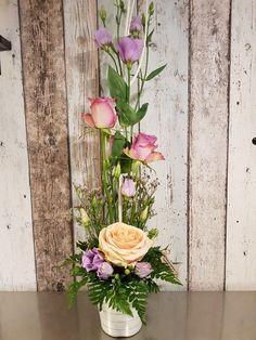 So much fun to make 😊 Tall Flower Arrangements, Tall Flowers, Floral Wreath, Wreaths, How To Make, Fun, Home Decor, Tall Floral Arrangements, Decoration Home