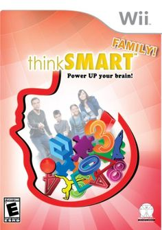 Wii Think Smart Power Up Your Brain on Mercari Family Video Games, Brain Memory, Fun Games For Kids, Brain Training, Training Plan, Wii Games, Game Sales, Family Game Night, Educational Videos