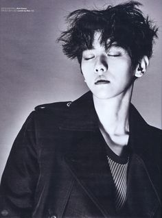 Baekhyun - 160620 W Korea magazine, July 2016 issue - [SCAN][HQ] Credit: Von EXO.