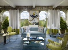 style et classe avec les rideaux extérieur