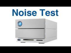 (28) LaCie 2big Dock Thunderbolt 3 12 TB noise test - YouTube