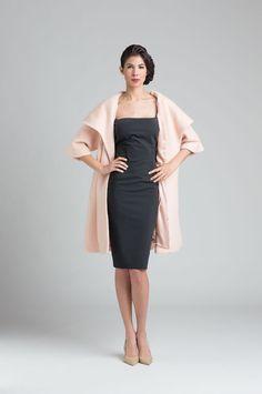 Classic shape Karen Caldwell Design | Home #FashionDesigner #StHelena #Fashion #lbd