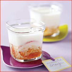 Yaourts aux zestes d'agrumes : découvrez les ingrédients, la préparation et la cuisson pour cette recette de cuisine.