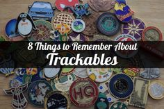 8 Things to Remember about Trackables - - If you're new to geocaching, you may not have come across a trackable item yet, or maybe you have, and you didn't know what it was or what to do with it. If you're a seasoned geoc…. Camping Activities, Activities For Kids, Camping Ideas, Geocaching Containers, Bug Hotel, Norse Symbols, Travel Bugs, New Hobbies, Girl Scouts