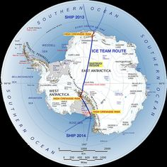 Route for Ranulph Fiennes 2013 trans-polar winter crossing Polar News ExplorersWeb - Ranulph Fiennes South Pole winter expedition: team and sea voyage
