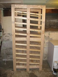 Build a vertical storage rack for cans | Backwoods Home Magazine | DIY | Pinterest | Vertical storage Storage rack and Storage & Build a vertical storage rack for cans | Backwoods Home Magazine ...