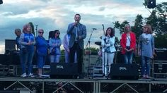 Saludo institucional del Presidente de la JMD Juan Carlos López en las Fiestas de la AVV Las Era La Fuente