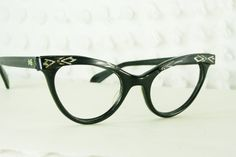974afe0d3b5f Vintage 50s Cat Eye Glasses 1960s Womens by THAYEReyewear on Etsy
