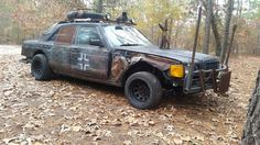 The Murdercedes Zombie Vehicle, War Band, Twisted Metal, Post Apocalypse, Mad Max, Romeo And Juliet, Dieselpunk, Rust, Concept Art