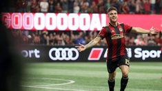 Atlanta United's Hector Villalba apologizes for gun gesture goal celeb Atlanta United Fc, Espn, Roman, Soccer, The Unit, Celebs, Goals, Celebrities, Football
