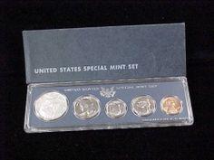 1966 SMS Special Proof Set Original Box Attractive Set 5 Coin Set   eBay