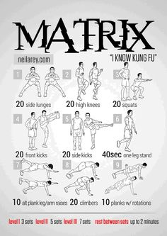 Matrix workout.