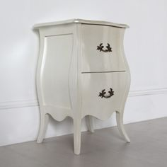 67 best our bedside tables images on pinterest classic bedside curvy two drawer french bedside table watchthetrailerfo