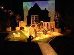 All My Sons - Set Design by Kevin Wilkiins
