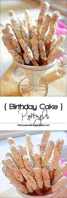 Cake batter & white