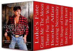 Grant me the Moon by Caroline Clemmons featured in Come Love A Cowboy Boxed Set 99cents