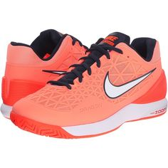 Nike Zoom Cage 2 (Atomic Pink Obsidian Total Crimson Obsidian) Women s 420c0dbbaa