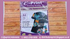 Transfer Paper Dark Murah ini memiliki kualitas barang yang bagus dan juga pengiriman yang terpercaya,Pemesanan kertas ini hubungi +62 852-2765-5050 Paper Logo, Transfer Paper, Photoshop, Prints