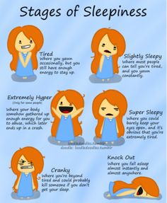 all of these stages are true for me!