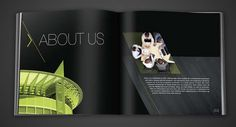 Brochures & Reports by Hazem Treasure, via Behance