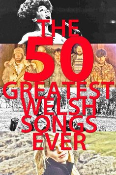 From anthems of the rock and rugby variety, Christmas classics to emotive hymns, here they are: WalesOnline's 50 greatest Welsh songs of all time Wales Uk, North Wales, Wales Cardiff, Famous Welsh People, Welsh Sayings, Learn Welsh, Welsh Language, Weekend Images, Welsh Weddings