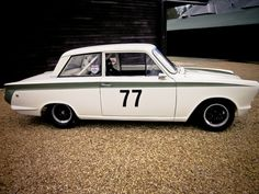 Ford Lotus Cortina Race Car