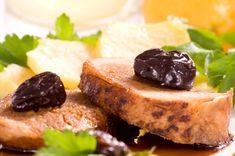 Easy Dinner Recipe: Balsamic & Port-Glazed Pork Roast with Prunes