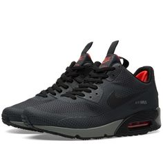 official photos cbab6 c8d45 Buy the Nike Air Max 90 Mid Winter Print in Anthracite   Black from leading  mens fashion retailer END. - only Fast shipping on all latest Nike products.
