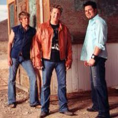 Gary LeVox, Jay Demarcus, and Joe Don Rooney. Other wise known as Rascal Flatts