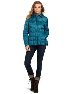 Woolrich Women's Abington Jacket Woolrich. $199.00. Rib knit collar. Windproof/Water resistant-repellant. polyester. Jacket packs into lower left hand warmer pocket. zipper closure. Princess seams for shaping. Concealed center front zipper. Machine Wash