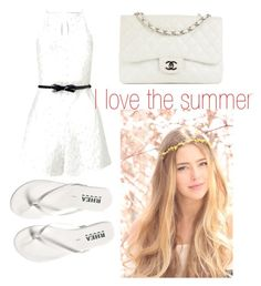 """Untitled #19"" by twilightytb ❤ liked on Polyvore featuring Lipsy and Chanel"
