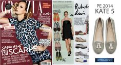 Discover the Kate 5 slippers on the latest Grazia issue!