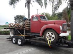 Look what we picked up yesterday!! A 1947 International KB-5!! #1947 #International #KB-5 #resurrectionmusclecars #RMC
